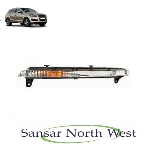Audi Q7 - Drivers Side Non LED Front Indicator RIGHT O/S DRL Turn Signal - 10>16